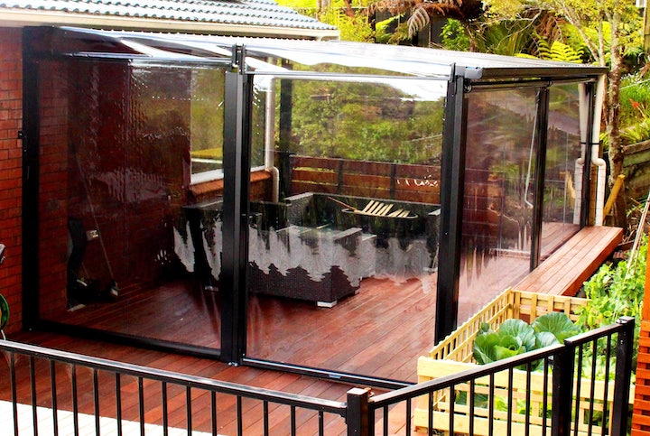 Outdoor blinds - Custom Pergola Auckland